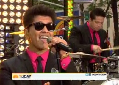 Bruno Mars Today Show Toyota Concert Series The Lazy Song
