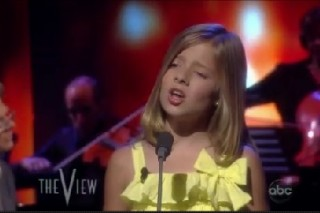 Jackie Evancho Brings 'The Phantom' To 'The View'