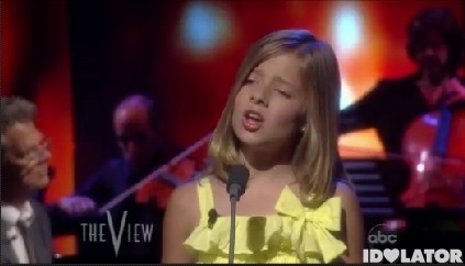 Jackie Evancho The View