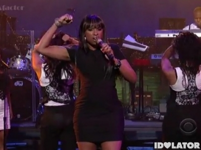 Jennifer Hudson Late Show David Letterman No One Gonna Love You