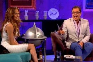 Jennifer Lopez Gets Chatty About 'American Idol' With Alan Carr