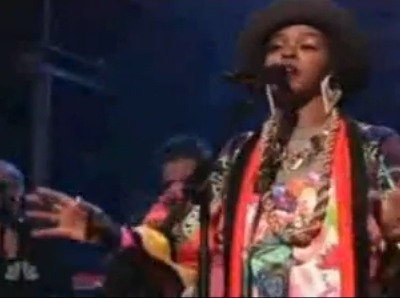 Lauryn Hill Late Night Jimmy Fallon That Thing Doo Wop