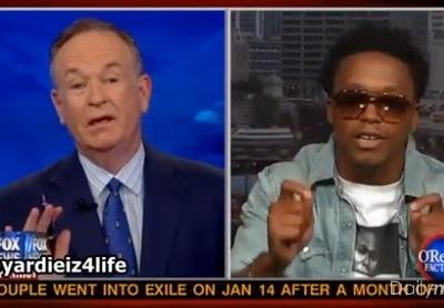 Lupe Fiasco Bill O'Reilly Factor President Barack Obama terrorist
