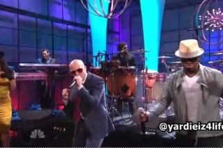 "Pitbull, Ne-Yo & Nayer Ask For ""Everything"" On The 'Tonight Show'"