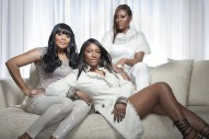 "The SWV Ladies Join Chris Brown On The ""She Ain't You"" Remix"