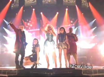 Team Christina Aguilera The Voice Lady Marmalade Frenchie Davis Beverly McClellan
