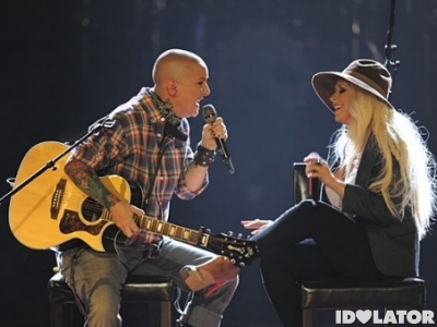 The Voice Beverly McClellan Christina Aguilera Beautiful Linda Perry