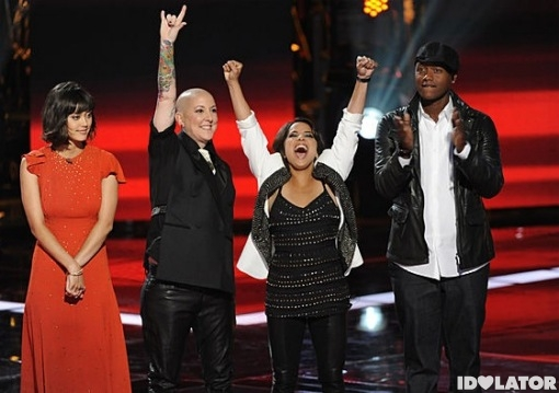 The Voice final performances Dia Frampton Beverly McClellan Vicci Martinez Javier Colon