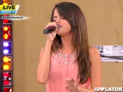 selena gomez good morning america