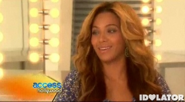 Beyonce Access Hollywood interview 4