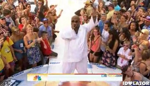 Cee Lo Green Today Show Summer Concert Series