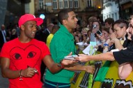 JLS Indulges Their Sweet Tooth At M&M World Store Opening (PHOTOS)