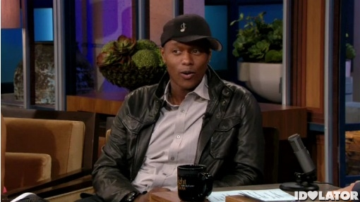 Javier Colon Tonight Show Jay Leno Stitch By Stitch