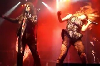 "Ke$ha And Alice Cooper Rock Out To ""School's Out"" In Oslo"