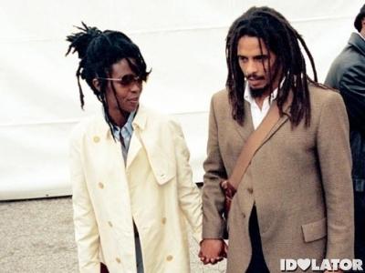 Lauryn Hill Rohan Marley photo