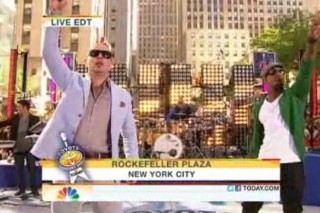 Watch Pitbull Do The 'Today Show' With Pals Ne-Yo, T-Pain & Marc Anthony