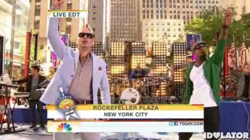 Pitbull Ne-Yo Today Show Toyota Concert Series Give Me Everything