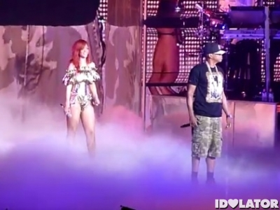 Rihanna Jay-Z Run This Town live New Jersey July 2011