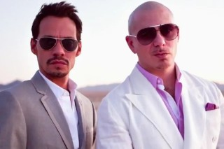 "Go Behind The Scenes Of ""Rain Over Me"" With Pitbull And Marc Anthony"