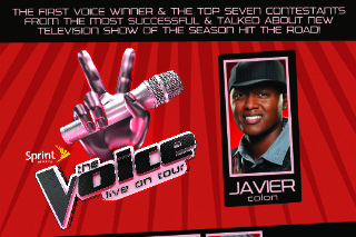 The Voice Live Ticket Giveaway — Enter To Win A Meet And Greet Package!