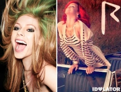 Avril Lavigne Rihanna Cheers