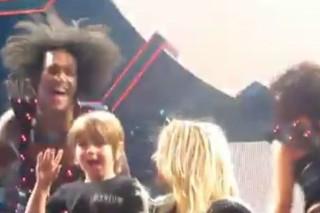 Britney Spears' Son Sean Preston Makes Femme Fatale Stage Debut