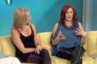 Debbie Gibson And Tiffany Do 'The View'