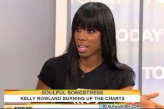 Here Kelly Rowland Is, On The 'Today Show'