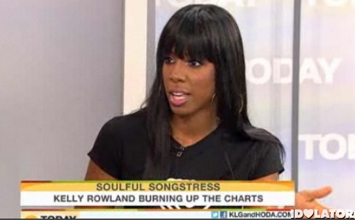 Kelly Rowland Today Show Here I Am