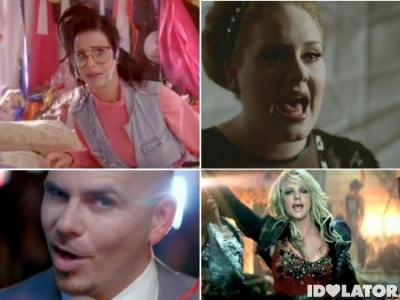 MTV VMAs 2011 Best Pop Video Britney Spears Pitbull Adele Katy Perry