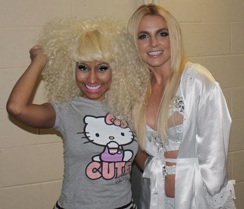 Nicki Minaj Britney Spears Femme Fatale Tour Toronto final date 2011 2