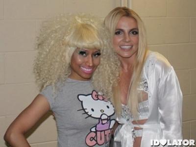 Nicki Minaj Britney Spears Femme Fatale Tour Toronto final date 2011