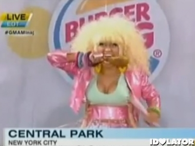Nicki Minaj Good Morning America GMA summer concert series
