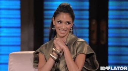 Nicole Scherzinger George Lopez X Factor