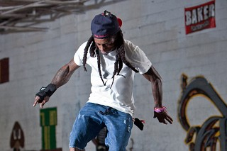Lil Wayne's Lil' Skateboarding Accident (PHOTOS)