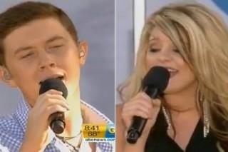 Scotty McCreery & Lauren Alaina Reveal Album Titles, Perform On 'GMA'