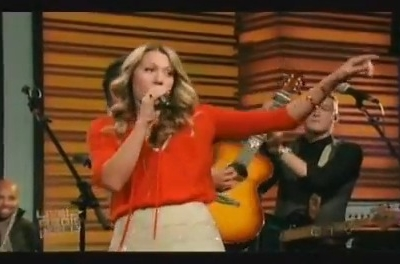 Colbie Caillat Live With Regis And Kelly Brighter Than The Sun