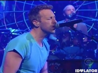 Coldplay Late Show David Letterman