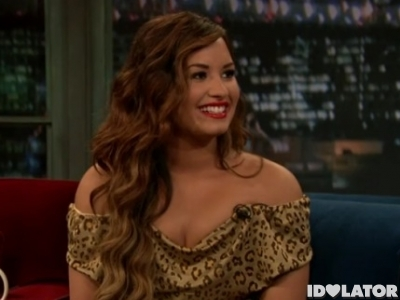 Demi Lovato Late Night With Jimmy Fallon