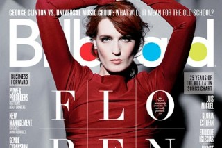 Florence Welch Has 'Billboard' Covered