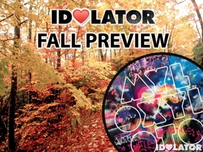 Idolator Coldplay Mylo Xyloto fall album preview 2011