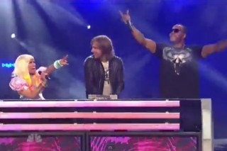 David Guetta And Pals Nicki Minaj & Flo Rida Hit Up 'America's Got Talent'