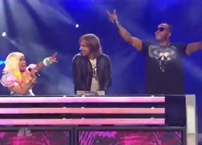 Nicki Minaj David Guetta Flo Rida Where Them Girls At America's Got Talent