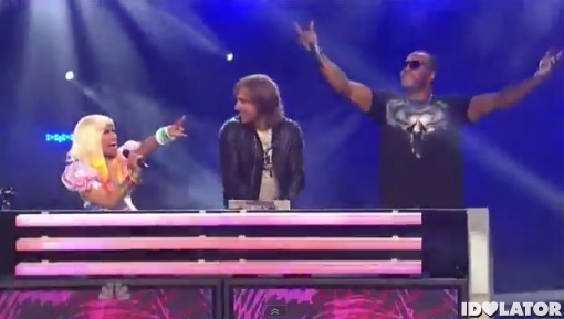 Nicki Minaj David Guetta Flo Rida Where Them Girls At America's Got Talent