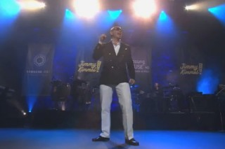 Pitbull Rains Over 'Jimmy Kimmel Live' (Sans Marc Anthony)