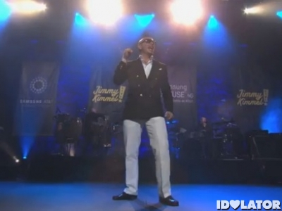 Pitbull Rain Over Me Jimmy Kimmel Live