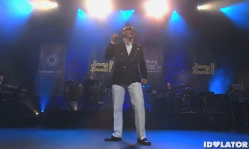 Pitbull Rain Over Me Jimmy Kimmel Live