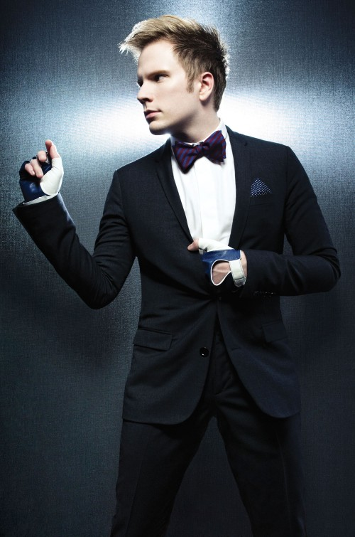 Press Photo - Patrick Stump - Silver BG