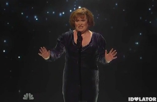 Susan Boyle America's Got Talent You Have to Be There