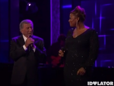 Tony Bennett Queen Latifah America's Got Talent AGT Who Can I Turn To